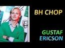 Gustaf Ericson BH chop technique Slowmotion, OX long pips техника длинных шипов