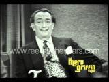 Salvador Dali Interview Merv Griffin Show 1965