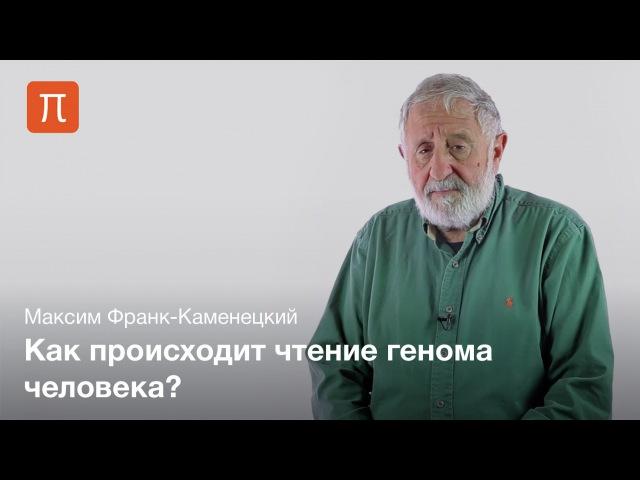 9. Определение последовательности ДНК — Максим Франк-Каменецкий