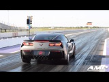 Worlds first 8 second 1/4 mile c7 corvette !! AMP 5x package !