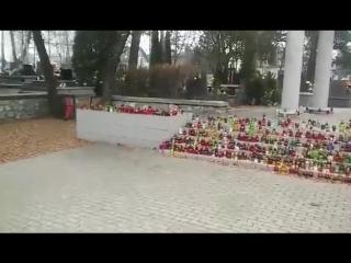 Польша, 26 ноября, 2016 . Вот как поляки чтут память красноармейцев