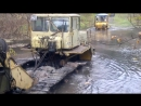 Кабелеукладчик на базе Кировец К 700 А 701 ПМК-106