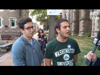 Reporter Triggers BETA-MALE SJWs For Hillary At Second Presidential Debate 720p