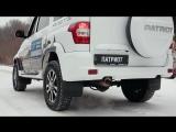 Обновленный УАЗ Патриот: помощь при начале движения на подъеме