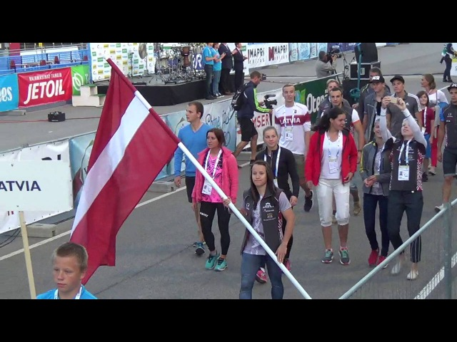 IBU Summer World Champioships 2016, Otepää (EST), Opening Ceremony