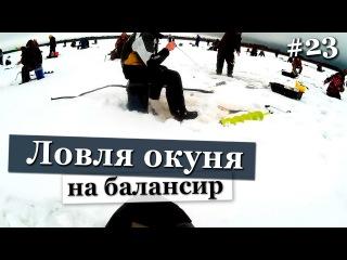 Ловля окуня зимой на балансир и блесна видео 2016 2017