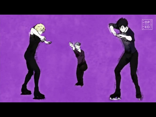 Yuri on Ice ユーリ on ICE Opening History Maker