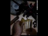 часть 2 --литье силиконовых приманок лежа--с боку--а не верх тормашками )))