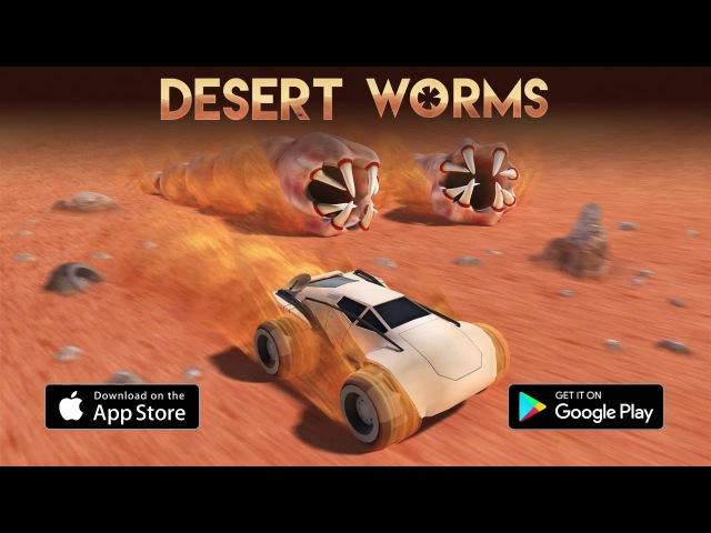 Desert Worms - Геймплей   Трейлер