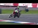 MotoGP racer crossed the finish line on his knees! · coub, коуб