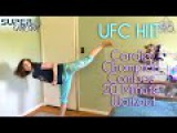 UFC HIIT Cardio Champion Combos 20 Minute Workout SuperMOM