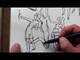 GESTURE DRAWING Real time sketching!