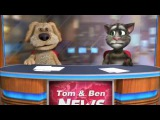 Talking Tom &amp Ben News Chris Brown - Yeah 3x (Full Song)