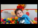 Ball Pit Fun - Kids Ball Pit Toy Review - Ball Pit with Basketball Hoop