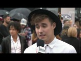Jorge Blanco Red Carpet Interview - AMAs 2016