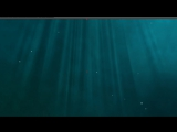 After Effects Tutorial - Underwater scene with light rays and bubbles (Deep Thought Pt1)
