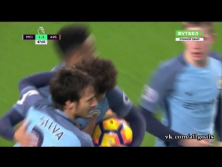 Манчестер Сити 2-1 Арсенал / 18.12.2016