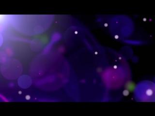 Футаж-боке фиолетового цвета
