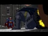 Бэтмен против Супермена - Бой (Эпизод из