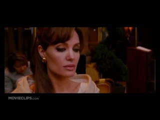 Interesting scene episode with Angelina Jolie in the movie