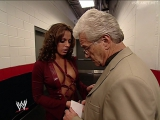 Dawn Marie flirts with Al Wilson, WWE Smackdown 14.11.2002