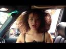 Женский оргазм от Баса в машине!