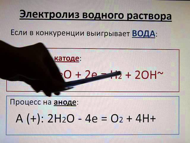 Электролиз. Часть 2. Уравнения электролиза расплавов и растворов.