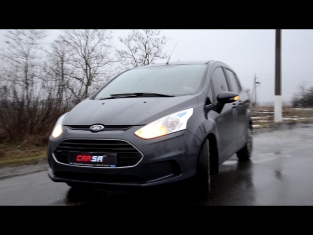 🏁 3 ЦИЛИНДРА😅 1.0L - Ford B-Max (1.0L) ACCELERATION 0 -100km/h 🏁 ФОРД БИ-МАКС РАЗГОН до 100