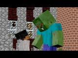 Ярик Лапа и Миникотик - Город мертвых #3 (Ярик Лапа Херобрин) Майнкрафт анимация