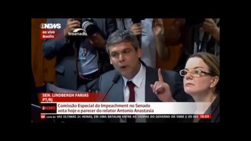 Lindberg Farias insiste em mentira no Senado e causa tumulto com Cunha Lima e Aloysio