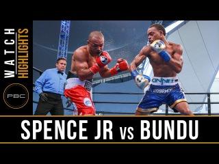 Spence Jr. vs Bundu HIGHLIGHTS: August 21, 2016 - PBC on NBC
