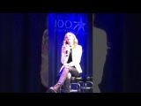 Jackie Evancho small interview at Bubba Show Breakfast in Pittsburgh