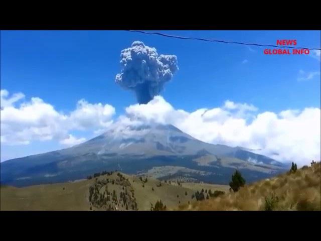 Massive Volcano Eruptions Caught On Camera