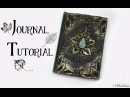 Polymer Clay Journal Cover Tutorial | Leafy Nature Fantasy DIY Book Cover