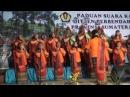 Lagu Sigulempong ditampilkan Paduan Suara Kanwil Ditjen Perbendaharaan Prop Sumut