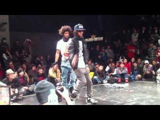 2 лучших танцоров в мире, Япония Ле близнецы финал хип хоп