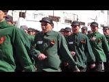 Конкурс строевой песни в ИК 5 Кемерово 2015