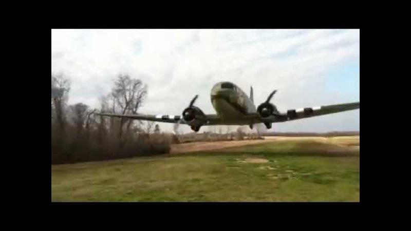 Проход DC-3 на сверхмалой.MOV