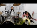 Eduarda Henklein  -  7 Years   (COVER Drum-Bass)  Pink Floyd - The Wall