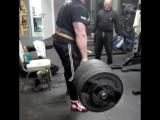 Влад Алхазов, тяга 370 кг на 3 раза