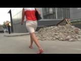 SEXy Lady in Mini Skirt !!! BIG ASS !!! Очень Сексуальная Леди в короткой юбке и с Большой Попой !!! Part One !