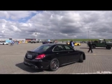 BRABUS 650 4.0 Biturbo V8 C63 S AMG! Start, Revs, Overview