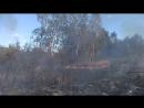 гасили пожежу без пожежників