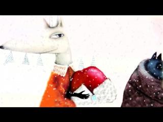 Волшебная зима-Зимняя сказка. Новогодний мультик по книге. Видео сказка про зиму на ночь и днем