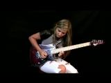 Что творит девушка в свои 16! Jason Becker - Altitudes - Tina S Cover