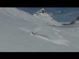 Как проделывают дороги в снегах Норвегии