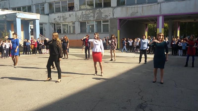Вчительський флеш-моб на День вчителя 30.09.2016