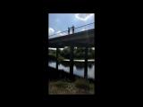 Прыжок с моста!