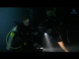 Ночное погружение с аквалангом