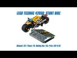 LEGO Technic 42058: Stunt Bike Unboxing, Speed Build & Review [4K]